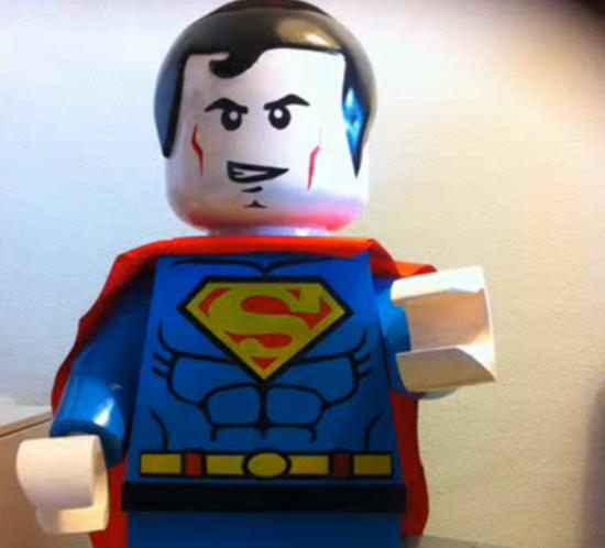 Escuela de Arte Murcia - Trabajos de alumnos - Maqueta Lego