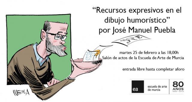 Escuela de Arte Murcia  Conferencia Recursos expresivos en el
