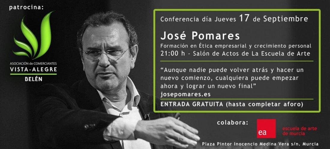 Conferencia José Pomares