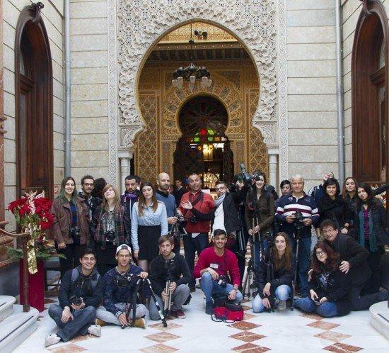Escuela de Arte Murcia - Actividad Fotográfica en el Real Casino de Murcia por los alumnos del Ciclo Superior de Fotografía